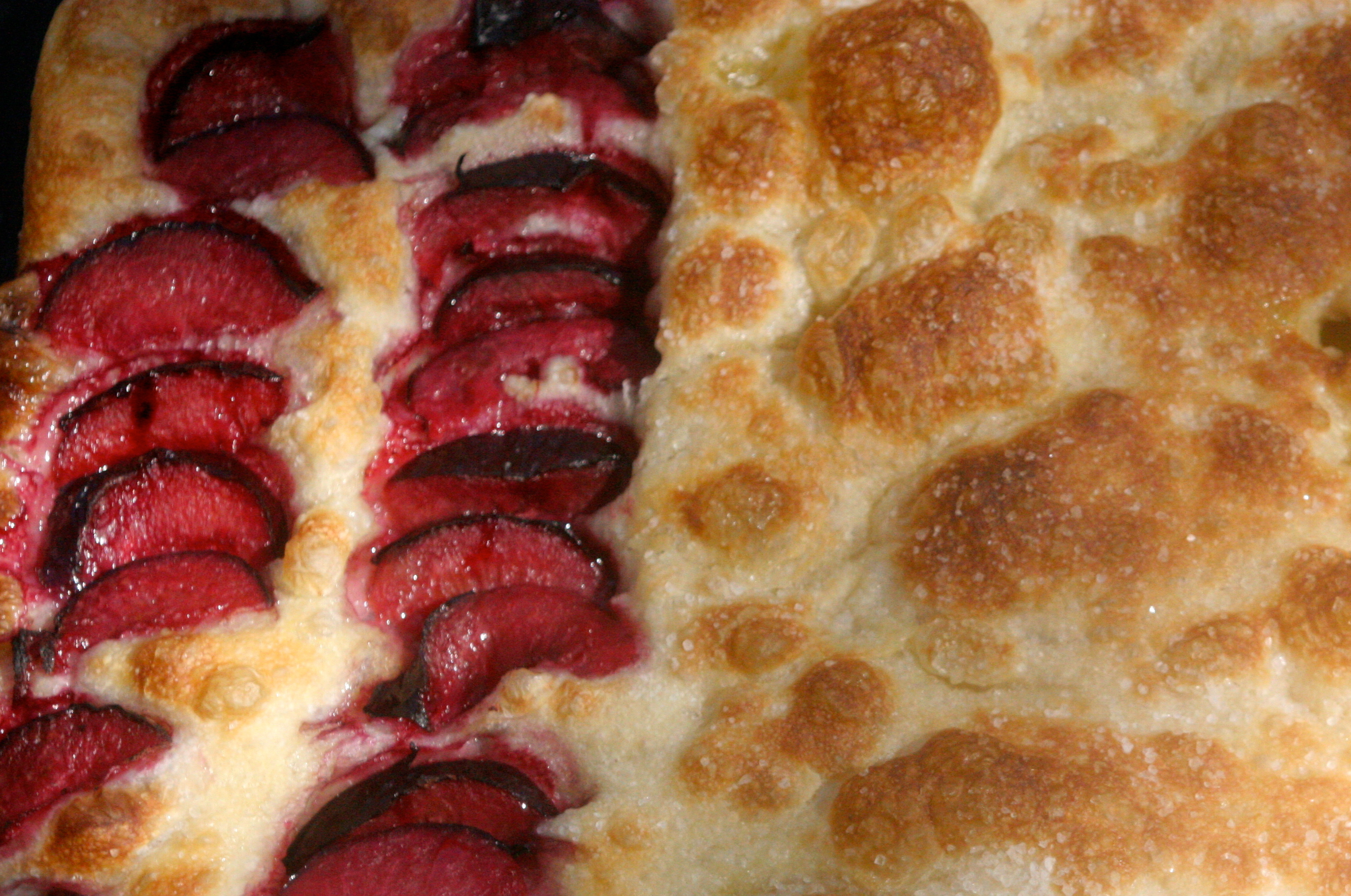 Cherry Granita with Almond Cream and Caramel Crunch | La ...