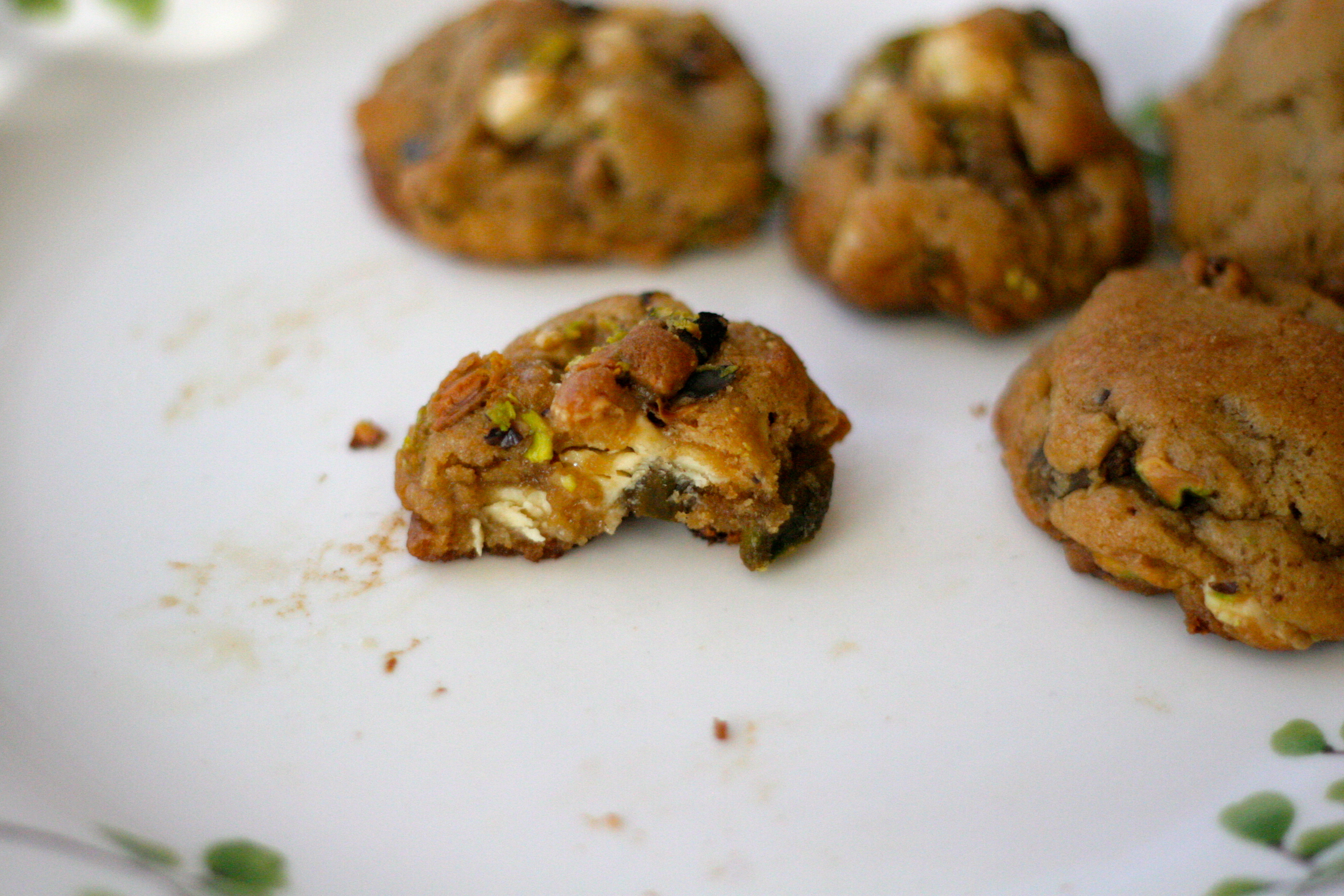 "White Chocolate Chunk Pistachio Cookies: My Favorite ""Chocolate ..."