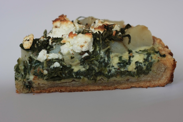 Chard and Sunchoke Savory Tart