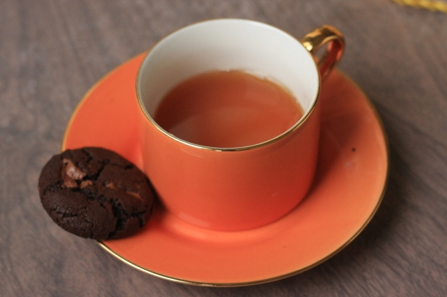 Chocolate Cookies and Tea