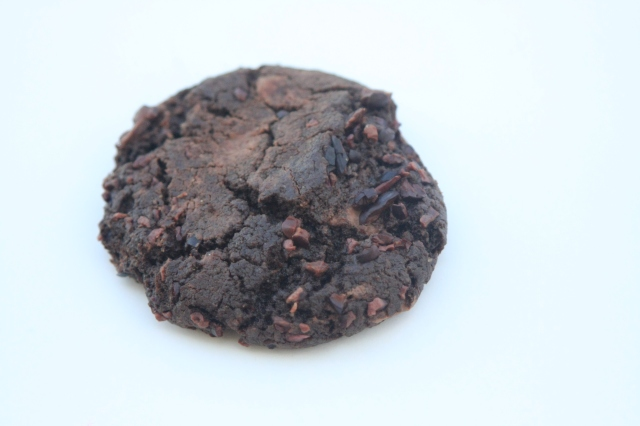 Chocolate Cookie with Milk Chocolate and Cacao Nibs